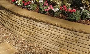 natural impressions flagstone retaining wall