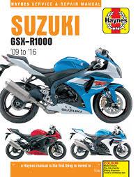 haynes manual 6345 suzuki gsxr1000 k9 l6 09 16