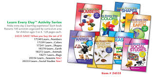 learn every day the preschool curriculum additional activity books