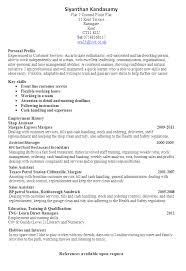 free and easy resume templates sarfr free blanks resumes