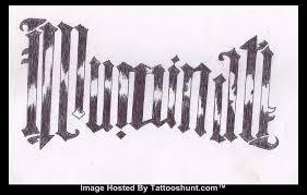 illuminati ambigram tattoo design real photo pictures images