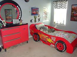 Race Car Bunk Beds Lightning Mcqueen Bunk Bed Image Of Cars Lightning Toddler Bed