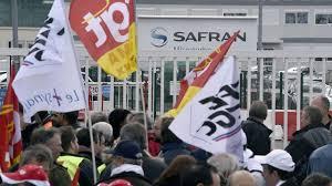 siege social safran safran manifestation pour les salaires atmosphère tendue au