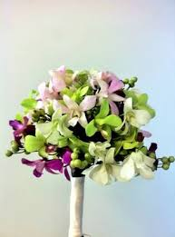 Orchid Bouquet Diy Orchid Bouquet And Garland Trial Run Weddingbee Photo Gallery