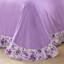 yadidi 100 cotton girls princess purple bedding sets bedroom bed