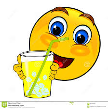 drink emoji smile emoticons drink ice stock illustration image of comic