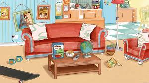 cartoon living room background cartoon living room background nohocare com