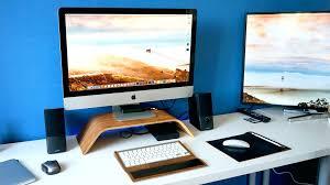minimalist desk mens office desk decor home set ultimate setup tour minimalist