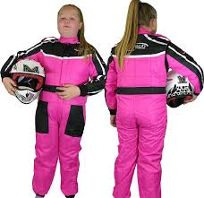 pink motocross bike childrens kids race suit limited edition karting motocross dirt