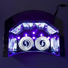 amazon com 66w powerful u0026 double wide nail gel polish uv lamp
