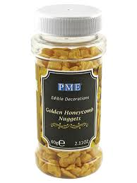 edible honeycomb golden honeycomb nuggets gourmet edible decorations 60g the