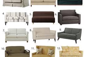 Apartment Sleeper Sofas Small Space Sleeper Sofa Visionexchange Co