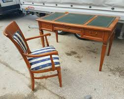 selva bellagio schreibtisch tisch mit armlehne stuhl ebay