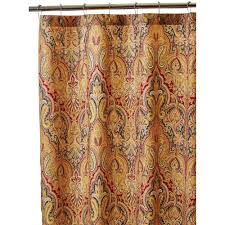 Brown Waffle Weave Shower Curtain by Interdesign 72 In X 72 In Chevron Shower Curtain In Aruba And