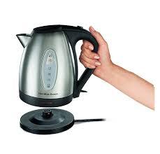 amazon com hamilton beach 40880 stainless steel electric kettle