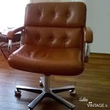 Chaise De Bureau Hello - chaise bureau cuir fauteuil de bureau vintage camel hello vintage