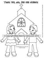 thankful for church kids coloring sheet jpg