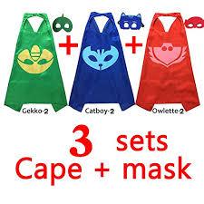 amazon pj masks costumes kids 3 12 45 kids