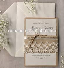 Kraft Paper Wedding Invitations Mi456 Kraft Paper U0026 Pearl Paper Two Layer Paper Wedding