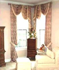 Curtains Corner Windows Ideas Window Treatments Ideas Unique Window Treatment Ideas Doors