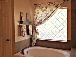 curtains bathroom window dressing ideas stunning curtains for