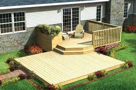 Backyard Patio Landscaping Ideas Exteriors Small Backyard Deck Patio Designs Ideas With Curved