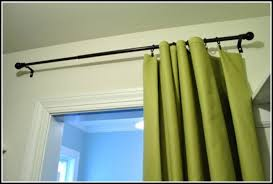 Drapery Rings Without Clips Curtain Rings With Clips White Curtains Home Design Ideas
