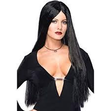 Morticia Addams Dress Amazon Com Morticia Addams Costume Wig Clothing