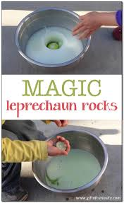magic leprechaun rocks st patrick u0027s day activity gift of