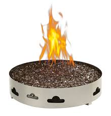 Traeger Fire Pit by Napoleon Patioflame Camp Fire Topaz Glass Vancouver Bbqs And