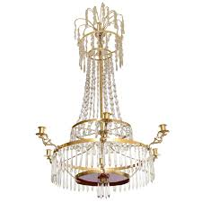 Crystal Chandelier 19th Century Antique Baltic Crystal Chandelier For Sale At 1stdibs