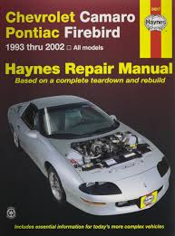 amazon com haynes repair manual for camaro firebird number 24017