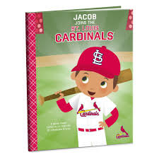 st louis cardinals personalized book personalized books hallmark