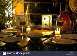 Romantic Table Settings Sub79060 Red Wine In Glasses Candles Table Setting For Cozy