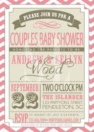 coed baby shower on sale couples baby shower invitation