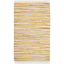 Rag Area Rug Safavieh Rag Rug Gold Multi 2 Ft 6 In X 4 Ft Area Rug Rar129n