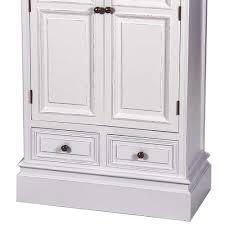 Schlafzimmerschrank Cabinet Shabby Chic Schrank Oclahome In Weiß Mit Schubladen