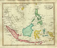 colonial map ostell1814