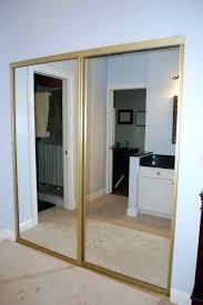 Mirror Closet Door Replacement Closet Mirror Closet Door Ideas Closet Sliding Doors Mirror