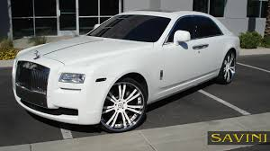 custom rolls royce ghost ghost savini wheels