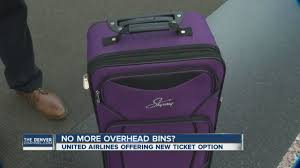 united airlines to charge less for new ticket price if you want to