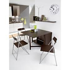 modern folding wood and metal furniture for dining area part of