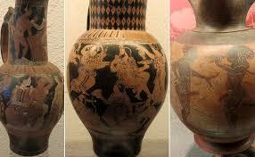 Euphronios Vase Along Via Aurelia Cerveteri
