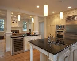 kitchen islands with columns columns kitchen in