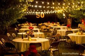 50th birthday party themes