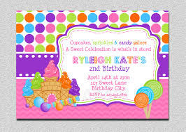 ice skating birthday party invitations candy land birthday invitation sweet shoppe candy land