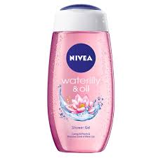 nivea waterlily shower gel 250 ml