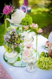 Centerpieces For Bridal Shower by Best 25 Tea Party Decorations Ideas On Pinterest Kitchen Tea