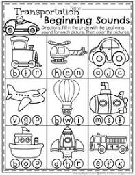 transportation sort air water or land perfect for preschool