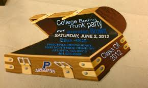 Graduation Party Invitation Card Trunk Party Invitations Theruntime Com